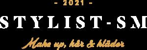 Stylist-SM 2021 - logotyp vit guld